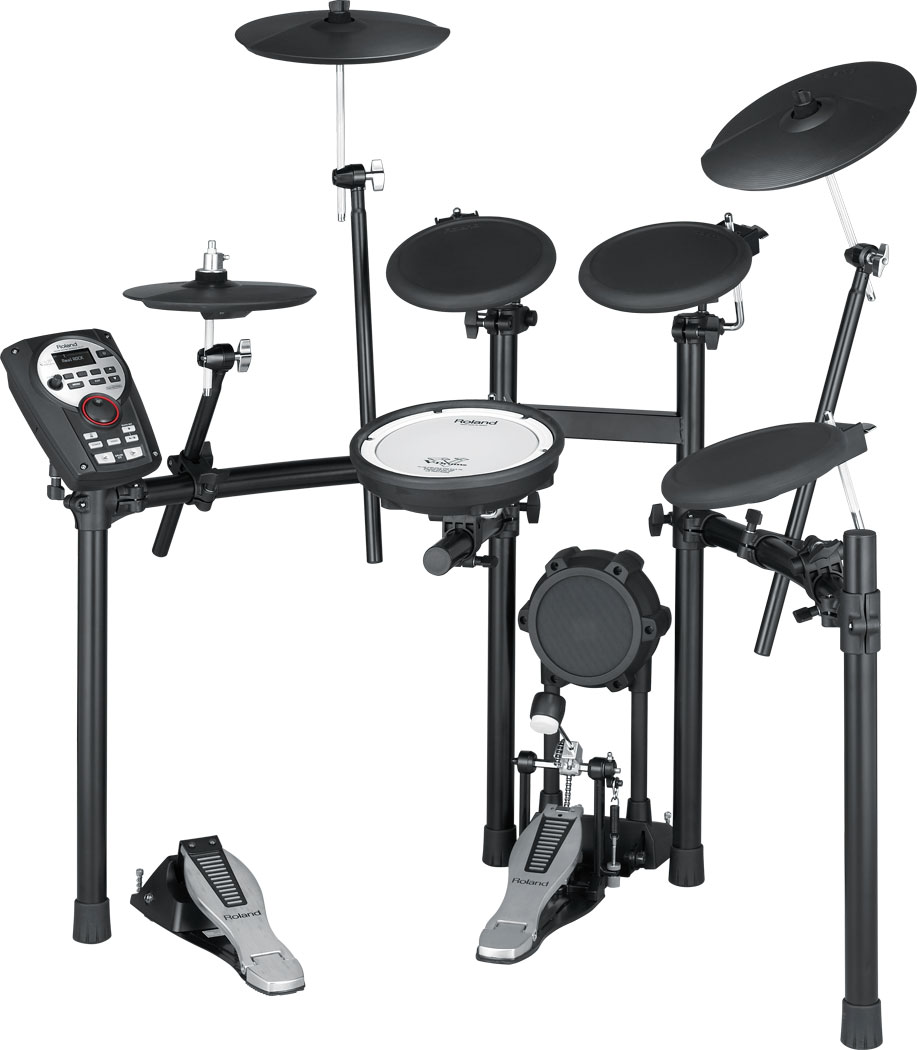 The Roland TD-11K Drum Set