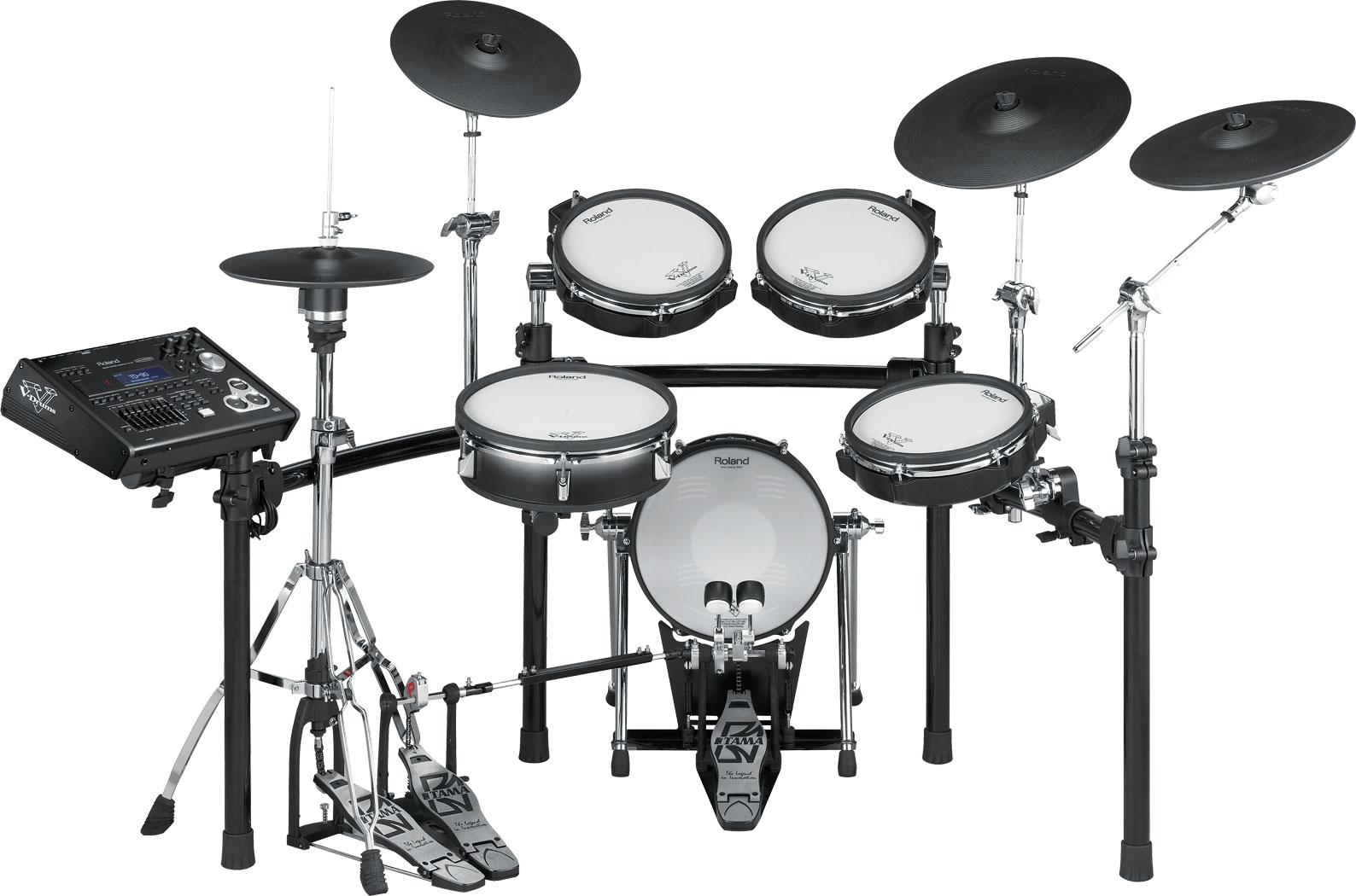 The Roland TD-30K Drum Set