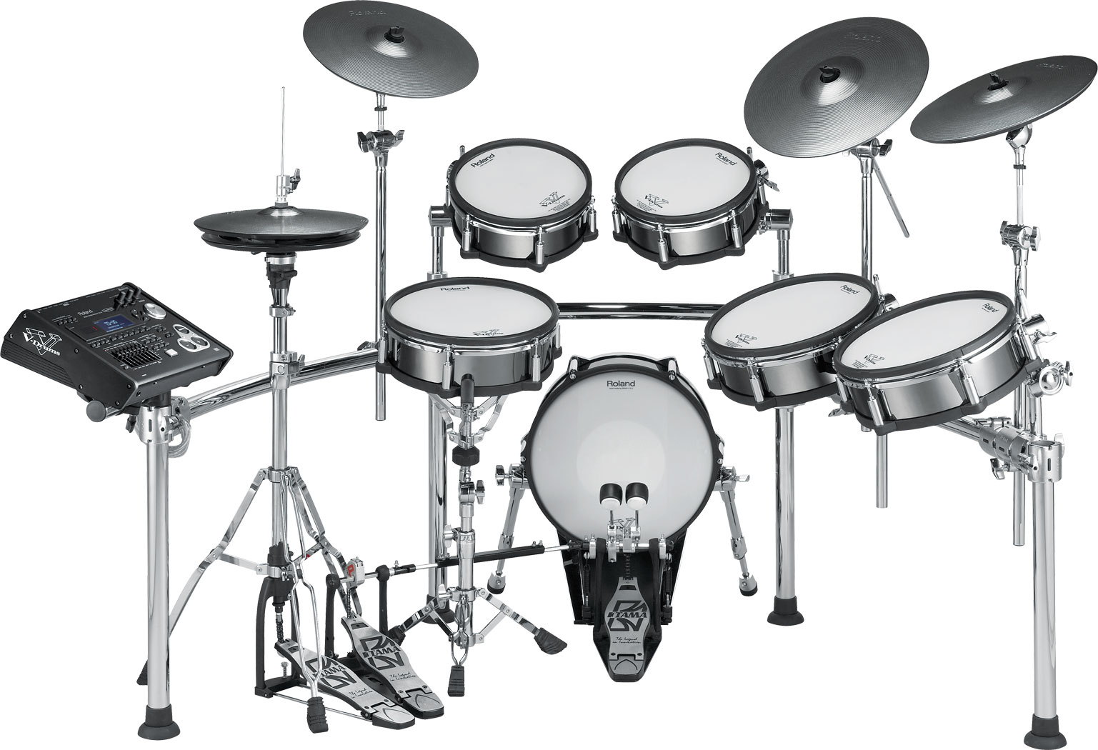 The Roland TD-30KV Drum Set
