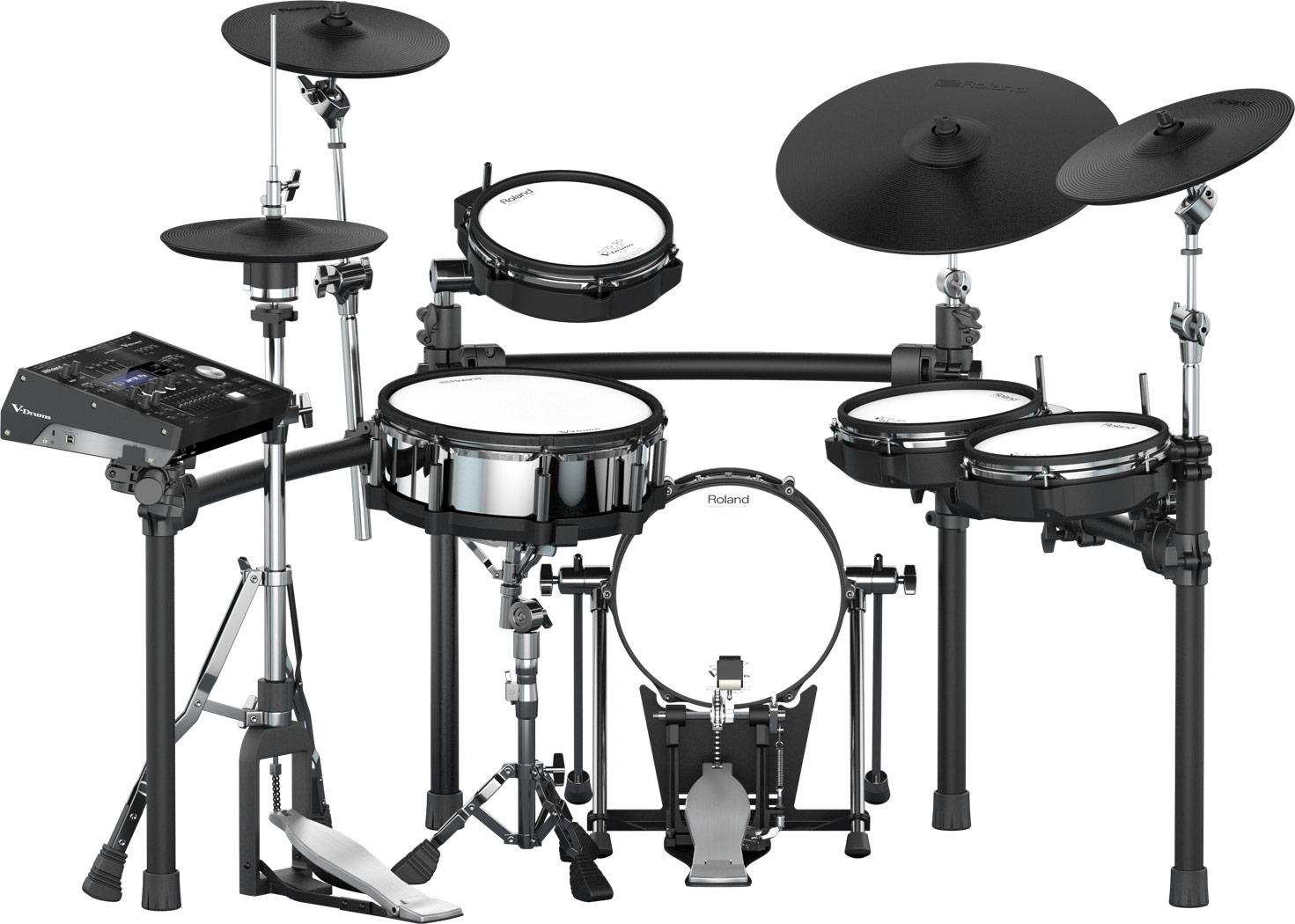 The Roland TD-50K Drum Set